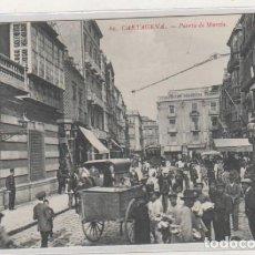 Postales: 60 CARTAGENA PUERTA DE MURCIA. LA INDUSTRIAL FOTOGRÁFICA. VALENCIA. Lote 132915050