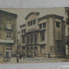 Postales: POSTAL. CARTAGENA, MURCIA. TEATRO PRINCIPAL. LA INDUSTRIAL FOTOGRÁFICA, VALENCIA. AÑO 1920.. Lote 133166942