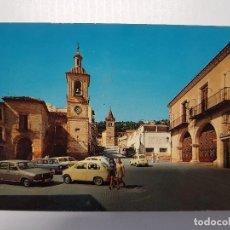 Postales: ANTIGUA POSTAL PLAZA QUEIPO DE LLANO YECLA MURCIA TIPOGRAFÍA NARCISO. Lote 133529918