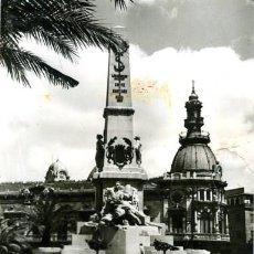 Postales: CARTAGENA (MURCIA). MONUMENTO A LOS HÉROES DE CAVITE. EDICIONES DARVI Nº IN-14. FOTOGRÁFICA.. Lote 133855122
