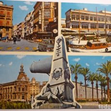 Postales: POSTAL CARTAGENA DIVERSOS ASPECTOS CM. Lote 134814174