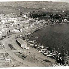 Postales: MURCIA AGUILAS VISTA DEL MUELLE ED. H.G. POSTAL FOTOGRÁFICA, SIN CIRCULAR. Lote 135049594