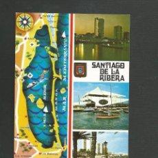 Postales: POSTAL CIRCULADA - SANTIAGO DE LA RIBERA 31 - MURCIA - EDITA ESCUDO DE ORO. Lote 136432758