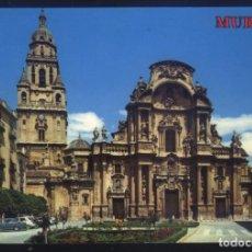 Postales: M-781- MURCIA. PLAZA DEL CARDENAL BELLUGA Y CATEDRAL.. Lote 136730702