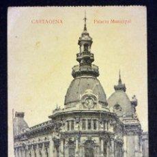 Postales: CARTAGENA, PALACIO MUNICIPAL. ANTIGUA POSTAL SIN CIRCULAR.. Lote 137348126