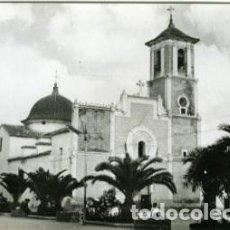 Postales: SAN JAVIER (MURCIA). GLORIETA E IGLESIA DE SAN FCO. JAVIER. EDICIONES ARRIBAS Nº 128. FOTOGRÁFICA.. Lote 137855874
