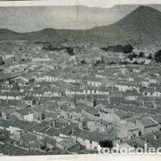 Postales: CALASPARRA (MURCIA). PANORÁMICA. EDICIONES ORTEGA. FOTO PORRAS.. Lote 137856062