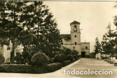 TOTANA (MURCIA). ATRIO Y CONVENTO DE PADRES CAPUCHINOS. EDIC. JDP. FOTO PENALVA. FOTOGRÁFICA. (Postales - España - Murcia Antigua (hasta 1.939))