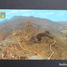 Postales: TARJETA POSTAL LORCA (MURCIA). CASTILLO. TORRE ALFONSINA AL FONDO. Lote 139342718