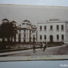 Postales: POSTAL AGUILAS -CASINO Y GLORIETA CM. Lote 140461022