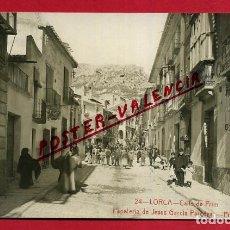 Postales: POSTAL MURCIA , LORCA , CALLE DE PRIM , ANDRES FABERT , FOTOGRAFICA , ORIGINAL , P441. Lote 140630394