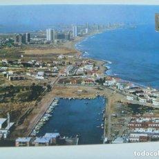 Postales: POSTAL DE LA MANGA DEL MAR MENOR , CARTAGENA ( MURCIA ) : CABO PALOS Y NUEVO PUERTO.. Lote 141327330