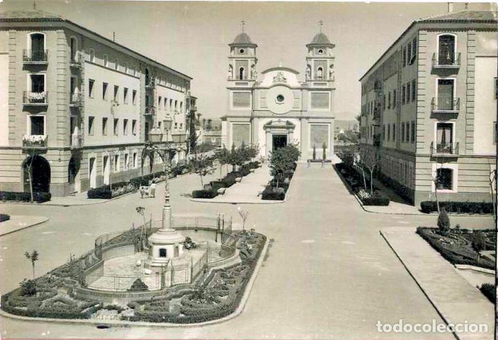 TARJETA POSTAL FOTOGRAFICA - MURCIA / BARRIO DE VISTABELLA (Postales - España - Murcia Moderna (desde 1.940))