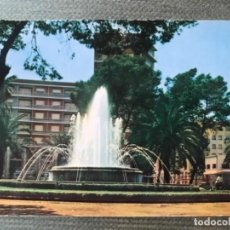 Postales: ANTIGUA POSTAL CARTAGENA MURCIA FUENTE LUMINOSA PLAZA ESPAÑA NUM 5. Lote 142750670