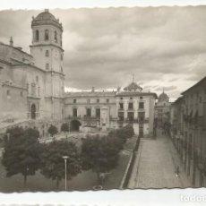 Postales: LORCA -PLAZA DE ESPAÑA. MONUMENTO AL SAGRADO CORAZÓN - Nº 49 ED. ARRIBAS. Lote 142966074