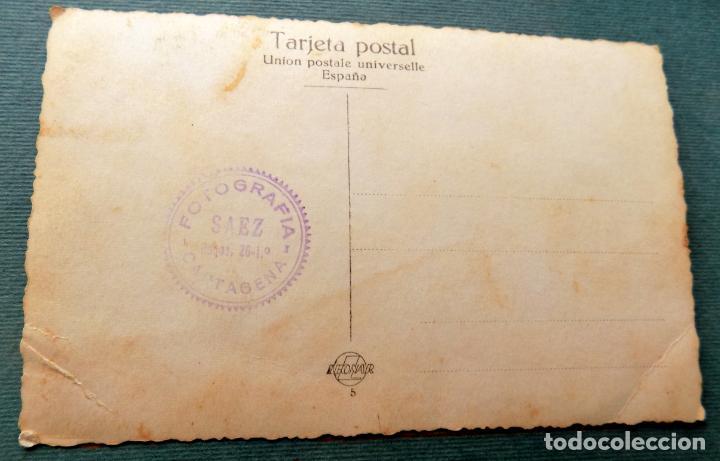 Postales: antigua postal , miss, señoritas . cartagena, fotografia saez - Foto 2 - 144080114