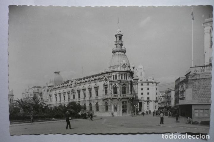 POSTAL CARTAGENA.-EDIF AYUNTAMIENTO (Postales - España - Murcia Moderna (desde 1.940))