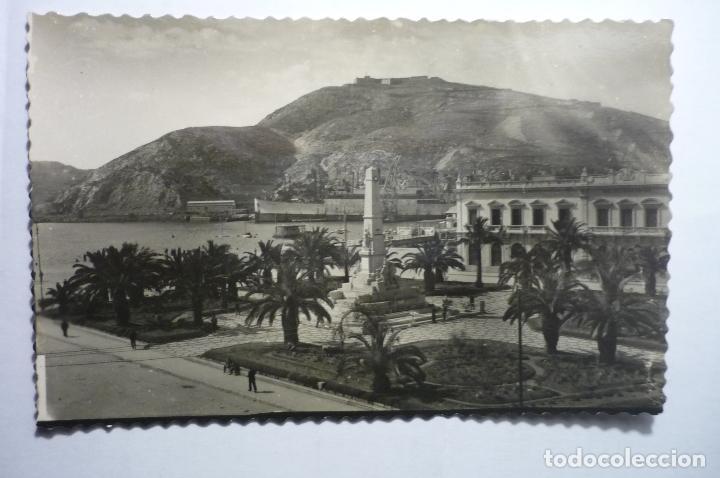 POSTAL CARTAGENA ,-PL.HEROES DE CAVITE (Postales - España - Murcia Moderna (desde 1.940))