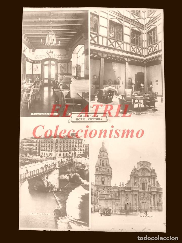 Postales: 4 CLICHES ORIGINALES - MURCIA - NEGATIVOS EN CRISTAL - EDICIONES ARRIBAS - Foto 7 - 145477958