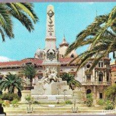 Postales: M - MURCIA - CARTAGENA - MONUMENTO A LOS HEROES DE SANTIAGO Y CAVITE. Lote 145979386