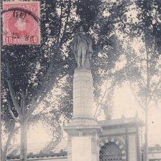 Postales: MURCIA - ESTATUA DE FLORIDABLANCA. Lote 146318562
