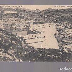 Postales: LORCA (MURCIA).- PANTANO DE PUENTES. Lote 146607662