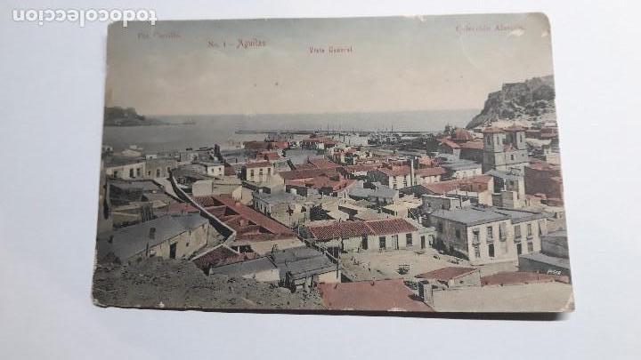Postales: Antigua Postal de AGUILAS - MURCIA. Nº1 Vista general. Foto Carrillo. Coleccion Alarcón. Años 20. SC - Foto 2 - 147725902