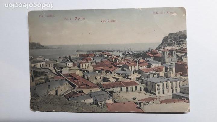ANTIGUA POSTAL DE AGUILAS - MURCIA. Nº1 VISTA GENERAL. FOTO CARRILLO. COLECCION ALARCÓN. AÑOS 20. SC (Postales - España - Murcia Antigua (hasta 1.939))