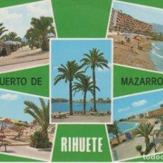 Postales: (4021) PUERTO DE MAZARRON. RIHUETE ... ESQUINA CON LIGERO DOBLEZ. Lote 147764326