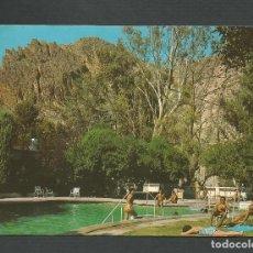 Postales: POSTAL CIRCULADA - ARCHENA 387 - MURCIA - PISCINA DE AGUA TERMAL DEL BALNEARIO - EDITA VALDIVIESO. Lote 147854038