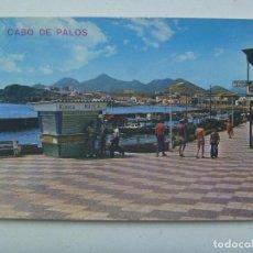 Postales: POSTAL DE MURCIA : CABO DE PALOS . PASEO LA BARRA . KIOSCO MAICA, AÑOS 60.. Lote 148113030