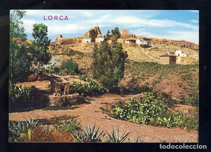 POSTAL DE LORCA: VISTA GENERAL DEL CALVARIO Y CASTILLO (ED.ARRIBAS 2004) (Postales - España - Murcia Moderna (desde 1.940))