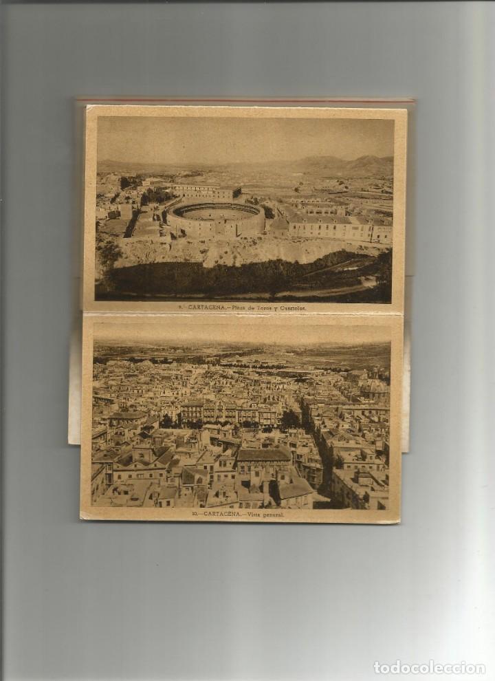 Postales: ALBUM DESPLEGABLE 10 POSTALES DE CARTAGENA-EDICION Y FOTOS CASAU-VARIEDAD-VER FOTOS - Foto 3 - 149501562