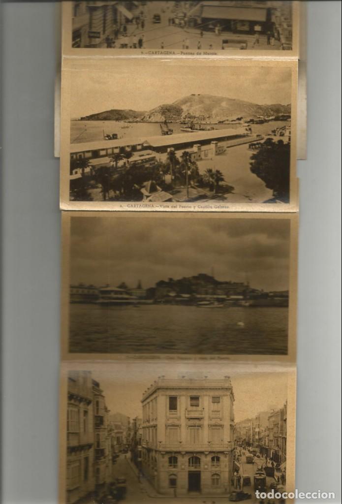 Postales: ALBUM DESPLEGABLE 10 POSTALES DE CARTAGENA-EDICION Y FOTOS CASAU-VARIEDAD-VER FOTOS - Foto 4 - 149501562