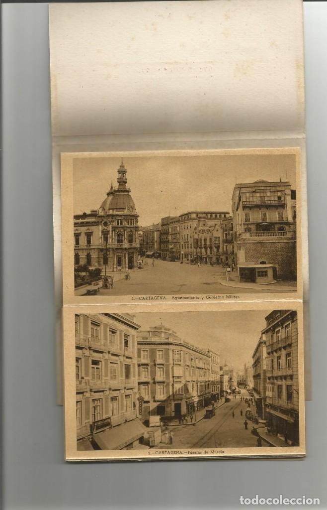 Postales: ALBUM DESPLEGABLE 10 POSTALES DE CARTAGENA-EDICION Y FOTOS CASAU-VARIEDAD-VER FOTOS - Foto 5 - 149501562