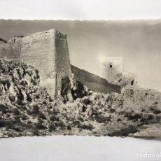 Postales: LORCA (MURCIA) POSTAL NO.22, CASTILLO. MURALLAS Y TORRE ALFONSINA. EDITA: EDICIONES ARRIBAS (H.1960?. Lote 150289168