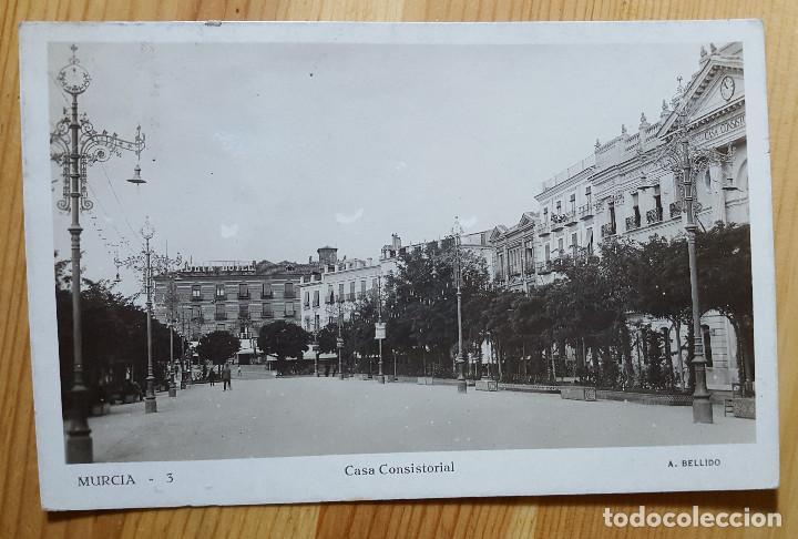 MURCIA Nº 3 CASA COSISTORIAL ED. A. BELLIDO (Postales - España - Murcia Moderna (desde 1.940))