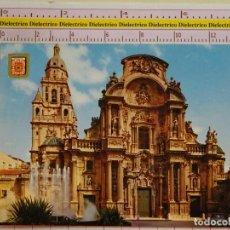 Postales: POSTAL DE MURCIA. AÑO 1967. FACHADA DE LA CATEDRAL. 1759. Lote 151904934
