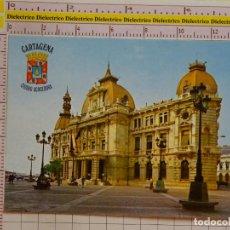 Postales: POSTAL DE MURCIA. AÑO 1982. CARTAGENA, AYUNTAMIENTO. 1761. Lote 151904986