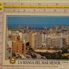 Postales: POSTAL DE MURCIA. AÑO 1992. LA MANGA DEL MAR MENOR. 1765. Lote 151905130