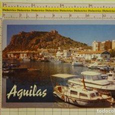 Postales: POSTAL DE MURCIA. AÑO 2002. AGUILAS CASTILLO DESDE EL PUERTO. 1781. Lote 151905710