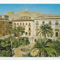 Postales: POSTAL DE JUMILLA- EDICIONES ARRIBAS-Nº 2004-PLAZA DEL CAUDILLO Y CASTILLO-SIN CIRCULAR-MBC. Lote 152209430