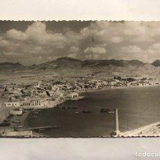 Postales: MAZARRÓN (MURCIA) FOTOGRAFÍA POSTAL. VISTA PANORÁMICA DE LA CIUDAD. EDITA: FOTO RODRÍGUEZ (H.1940?). Lote 152486586