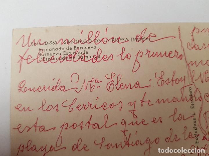 Postales: ANTIGUA POSTAL LA RIBERA MAR MENOR MURCIA BARNUEVO ESCUDERO - Foto 2 - 152611770