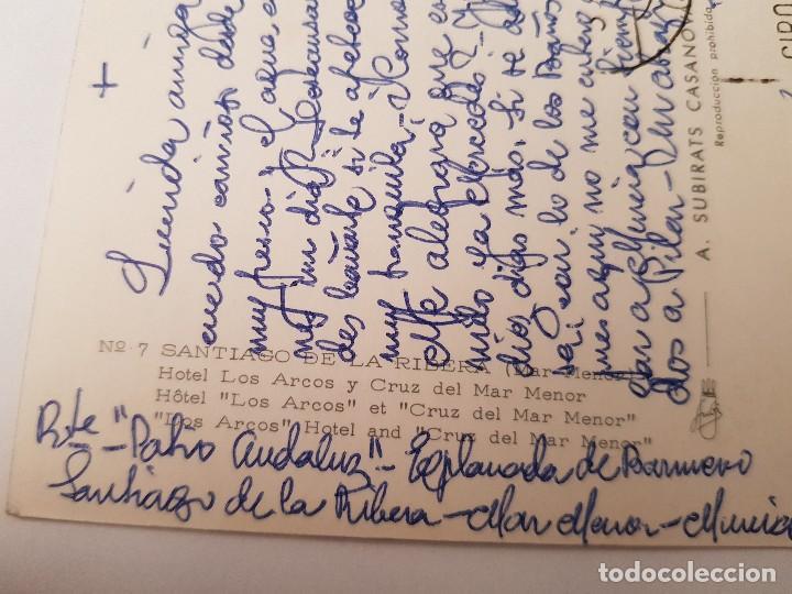 Postales: ANTIGUA POSTAL LA RIBERA MAR MENOR MURCIA SUBIRATS CASANOVAS 7 - Foto 2 - 152612338