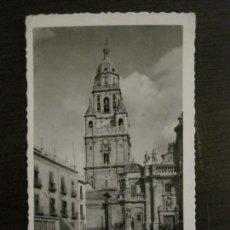 Postales: MURCIA-TORRE DE LA CATEDRAL-216-ED·AISA-MOTO & BICICLETA-POSTAL ANTIGUA-(57.255). Lote 152944366