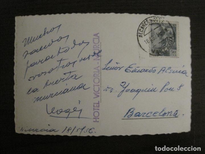 Postales: MURCIA-TORRE DE LA CATEDRAL-216-ED·AISA-MOTO & BICICLETA-POSTAL ANTIGUA-(57.255) - Foto 2 - 152944366