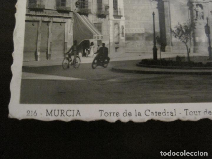 Postales: MURCIA-TORRE DE LA CATEDRAL-216-ED·AISA-MOTO & BICICLETA-POSTAL ANTIGUA-(57.255) - Foto 3 - 152944366