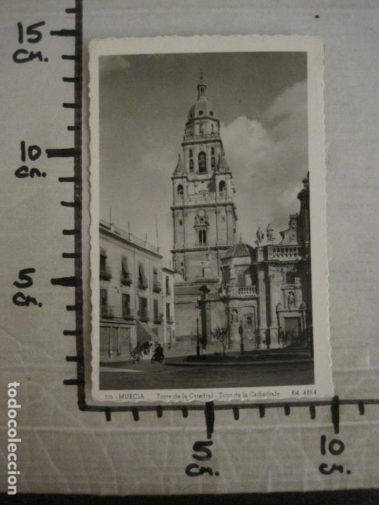 Postales: MURCIA-TORRE DE LA CATEDRAL-216-ED·AISA-MOTO & BICICLETA-POSTAL ANTIGUA-(57.255) - Foto 4 - 152944366
