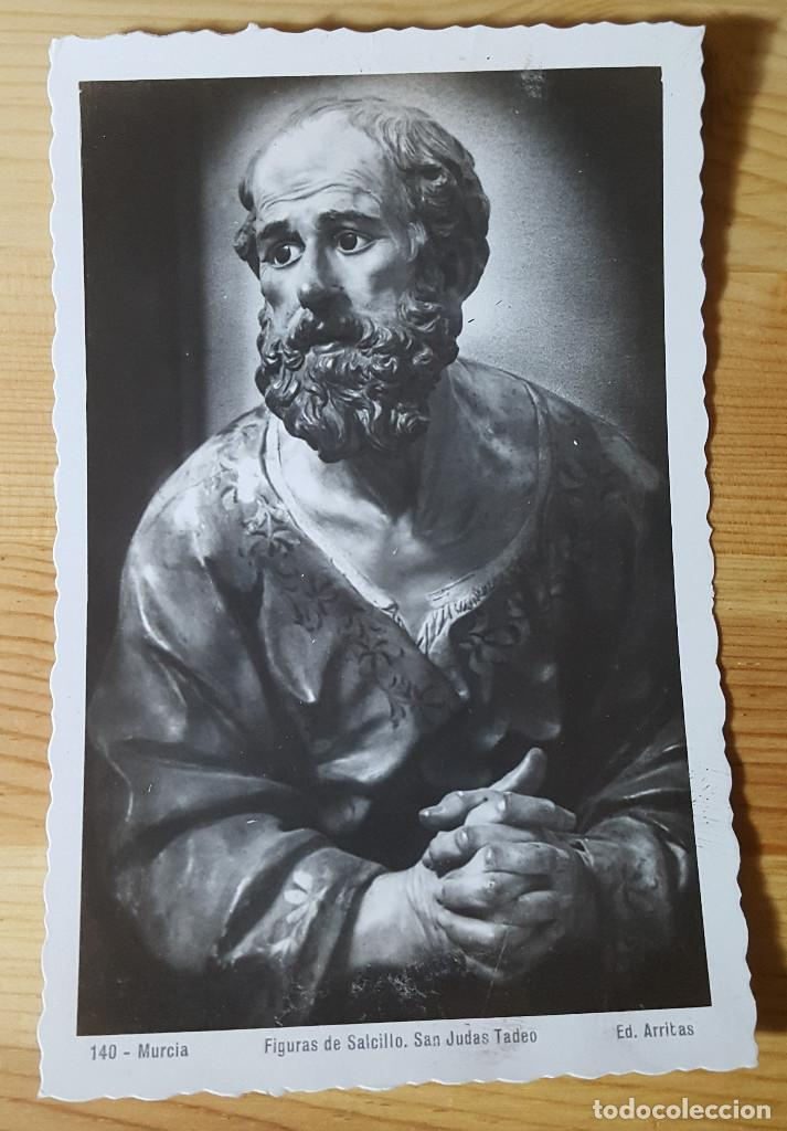 MURCIA FIGURAS DE SALCILLO SAN JUDAS TADEO ED. ARRIBAS Nº 140 (Postales - España - Murcia Moderna (desde 1.940))